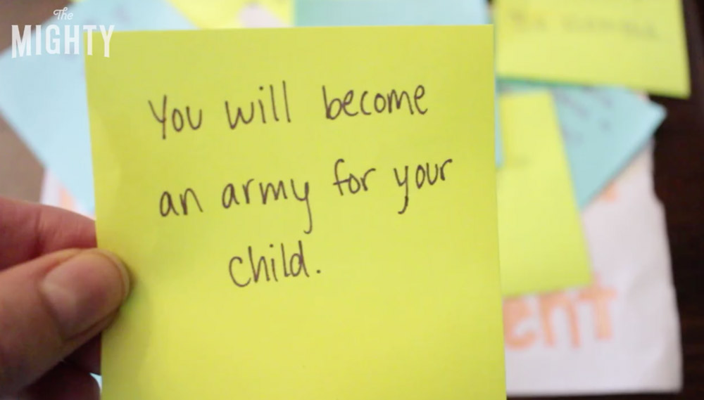 You Will Become an Army for your Child
